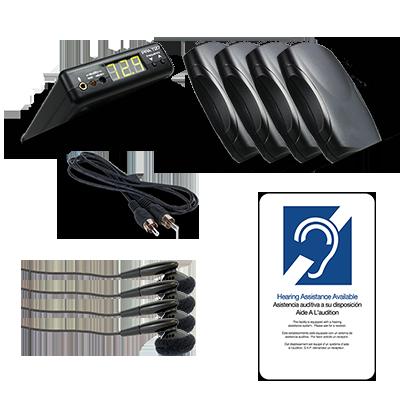 ADA compliant assertive listening system