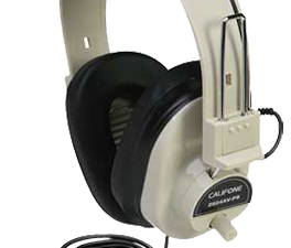 Califone noise cancelling headphones