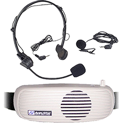 portable PA system with headset mic