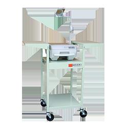 projector media cart on wheels