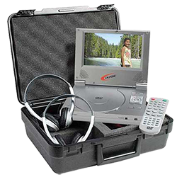 portable DVD player by Califone