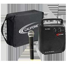 Califone handheld microphone