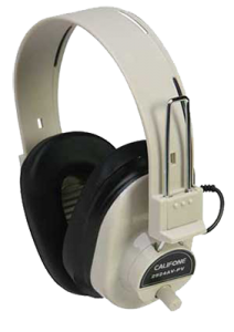 Califone headphones