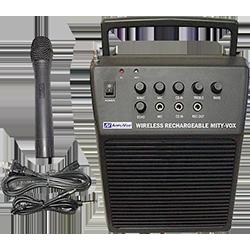 Amplivox handheld mic