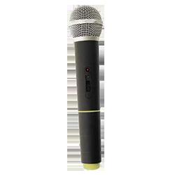 handheld microphone