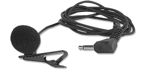 heads-free microphone