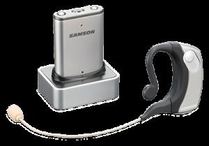 Samson wireless hands-free microphone