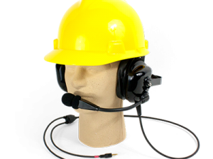 heavy duty headset microphone
