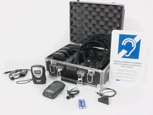 ADA compliant assistive listening device
