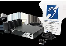 ADA compliant assistive listening device