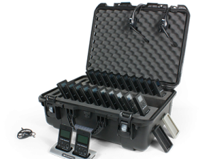 interpreting equipment and carry case
