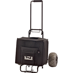 Anchor Audio carry case on wheels