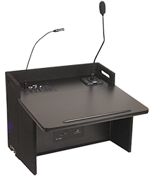 Anchor Audio table-top lectern