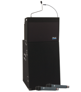 Anchor Audio PA system with handheld microphones