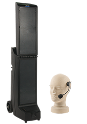 PA system with handset microphone