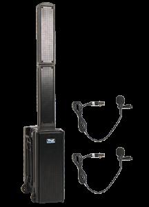 Anchor Audio speakers and lapel mics