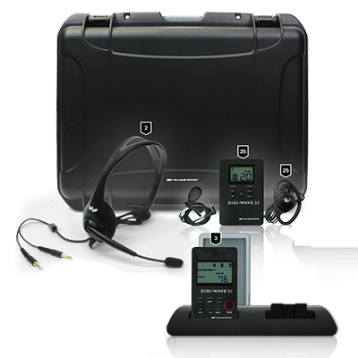 audio equipment with headset microphone