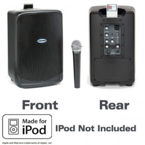 iPod speaker and microphone