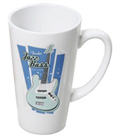 fearsome foursome collector's mug - jazz bass