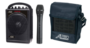 Audio2000 manufactures portable & self-contained PA systems