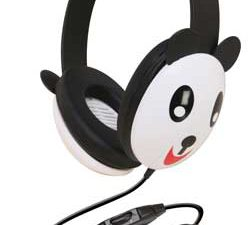 Califone 2810-PA Listening First Stereo Headphones - Panda