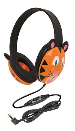Califone 2810-TI Listening First Stereo Headphones - Tiger