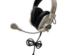 Califone 3066AVT Deluxe Multimedia Stereo Headset