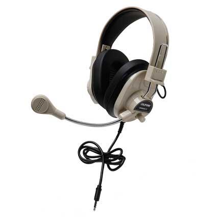 Califone 3066AVT Deluxe Multimedia Stereo Headset